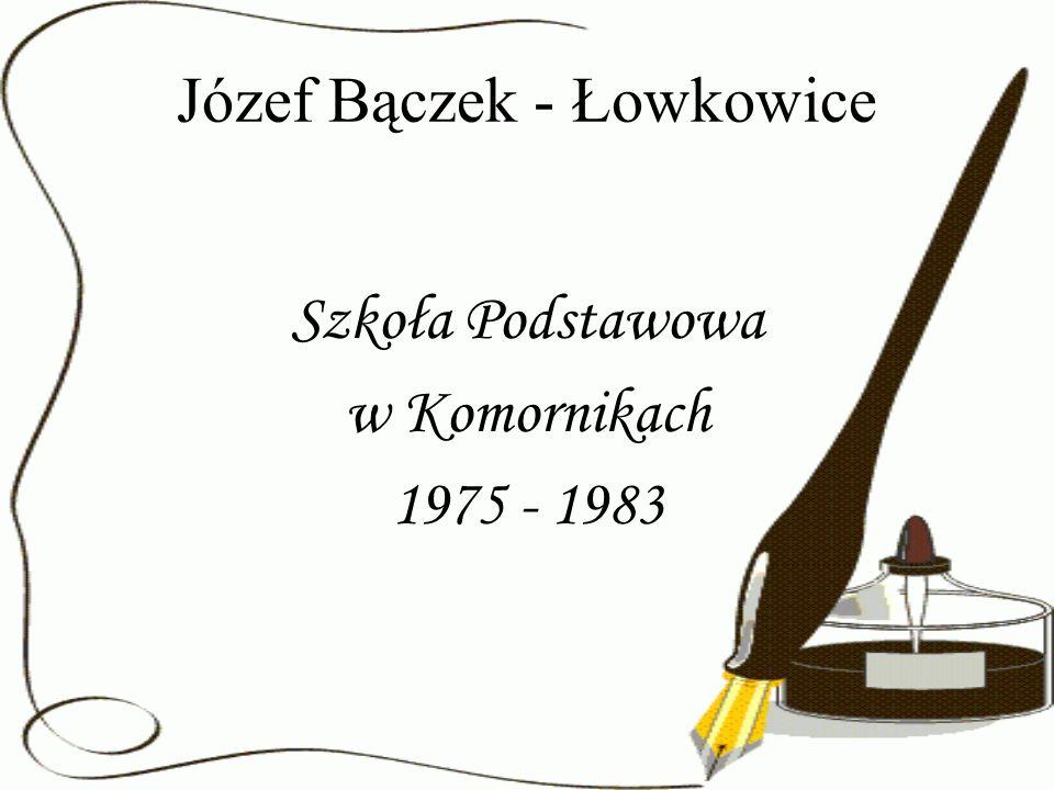 Józef Bączek - Łowkowice