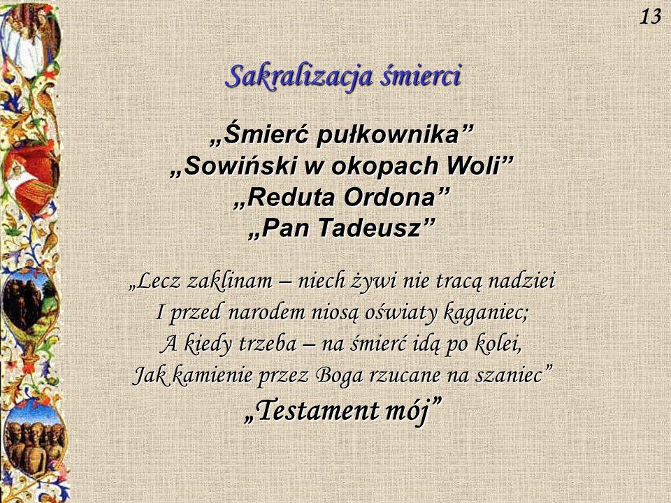"""""""Sowiński w okopach Woli"""