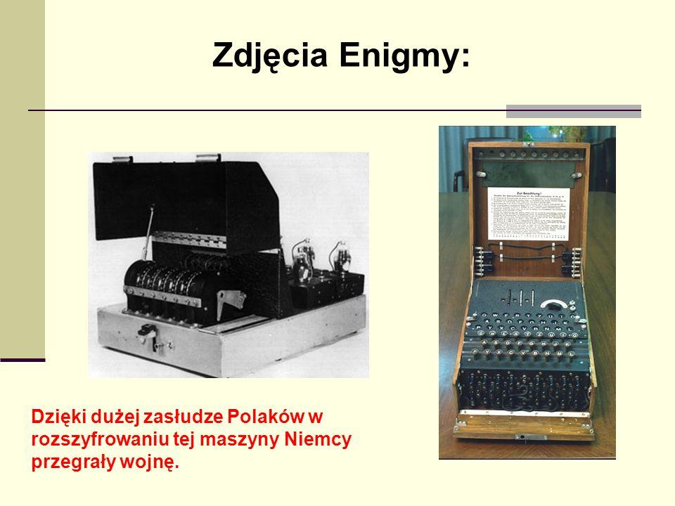 Zdjęcia Enigmy: Dzięki dużej zasłudze Polaków w rozszyfrowaniu tej maszyny Niemcy przegrały wojnę.