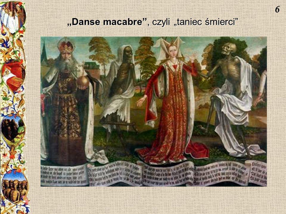 """""""Danse macabre , czyli """"taniec śmierci"""
