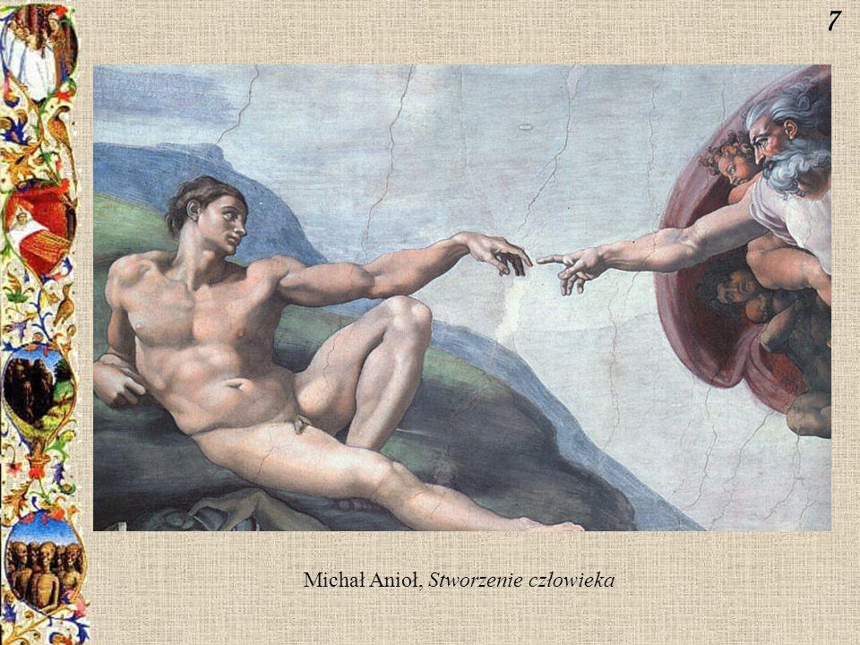 Michał Anioł, Stworzenie człowieka