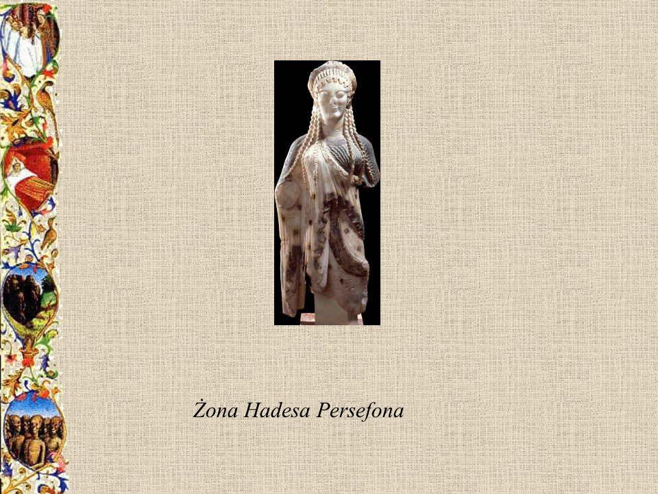 Żona Hadesa Persefona