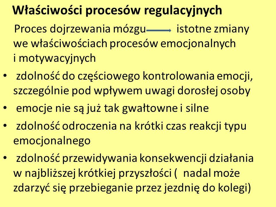 Właściwości procesów regulacyjnych