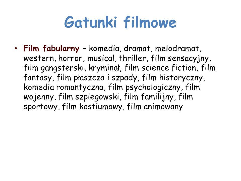 Gatunki filmowe