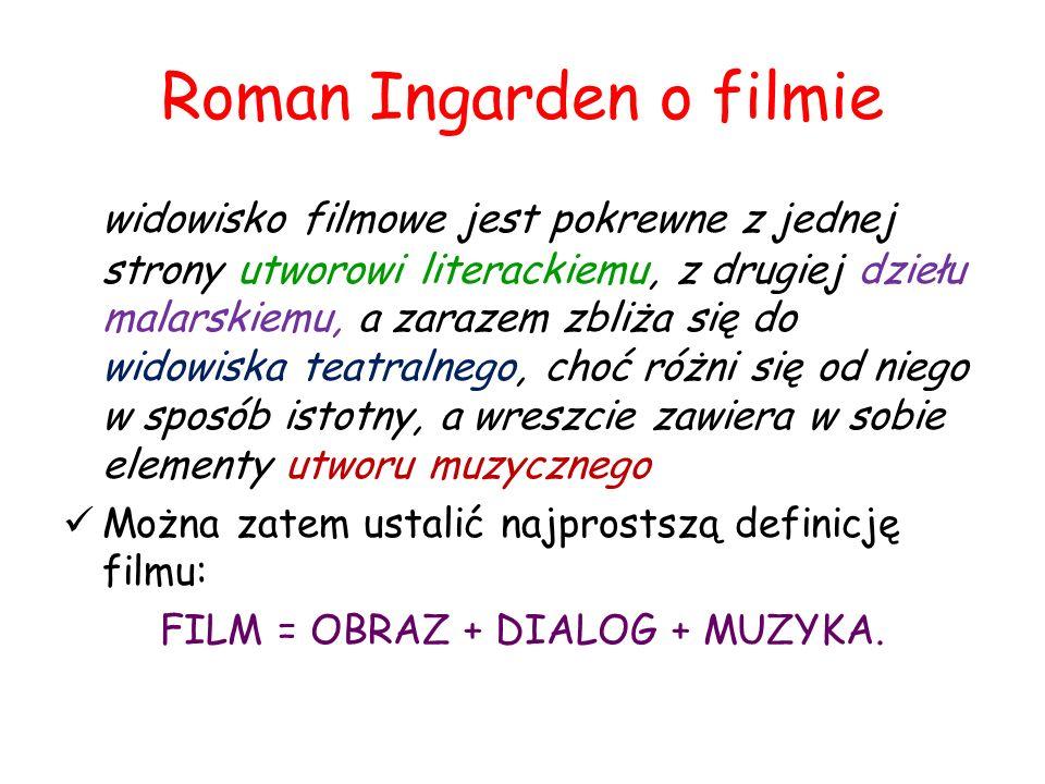 Roman Ingarden o filmie