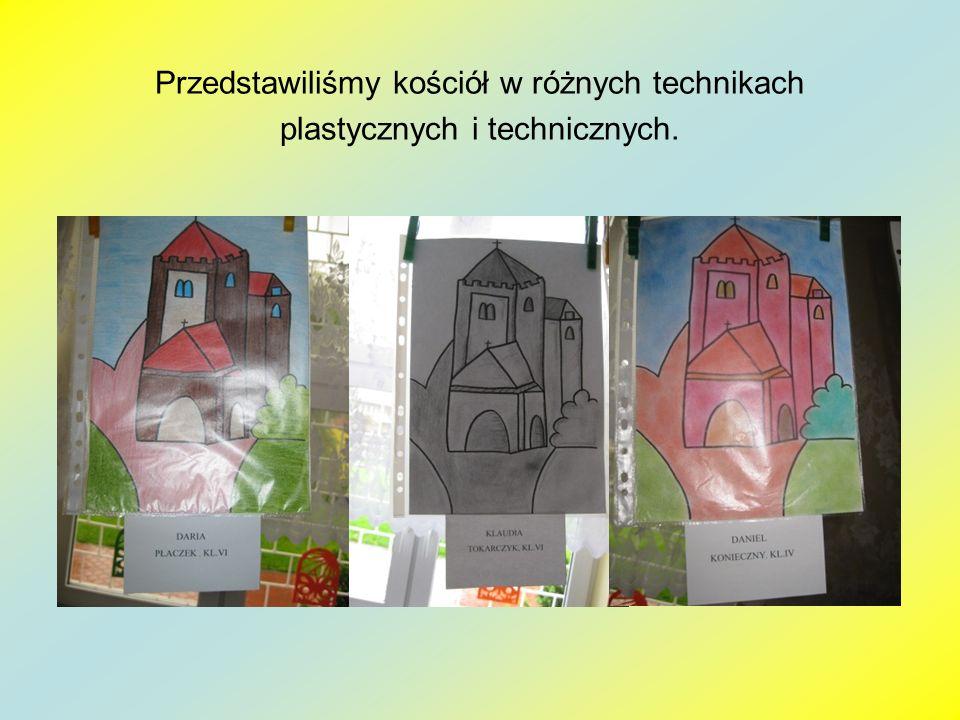 Przedstawiliśmy kościół w różnych technikach