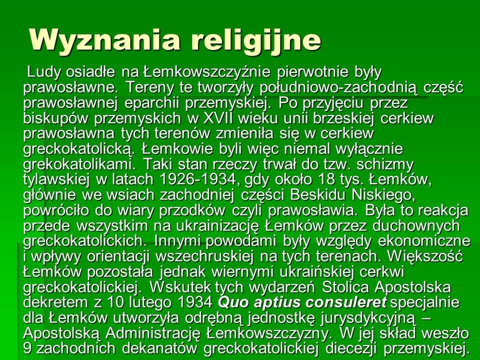 Wyznania religijne