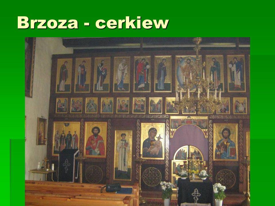 Brzoza - cerkiew