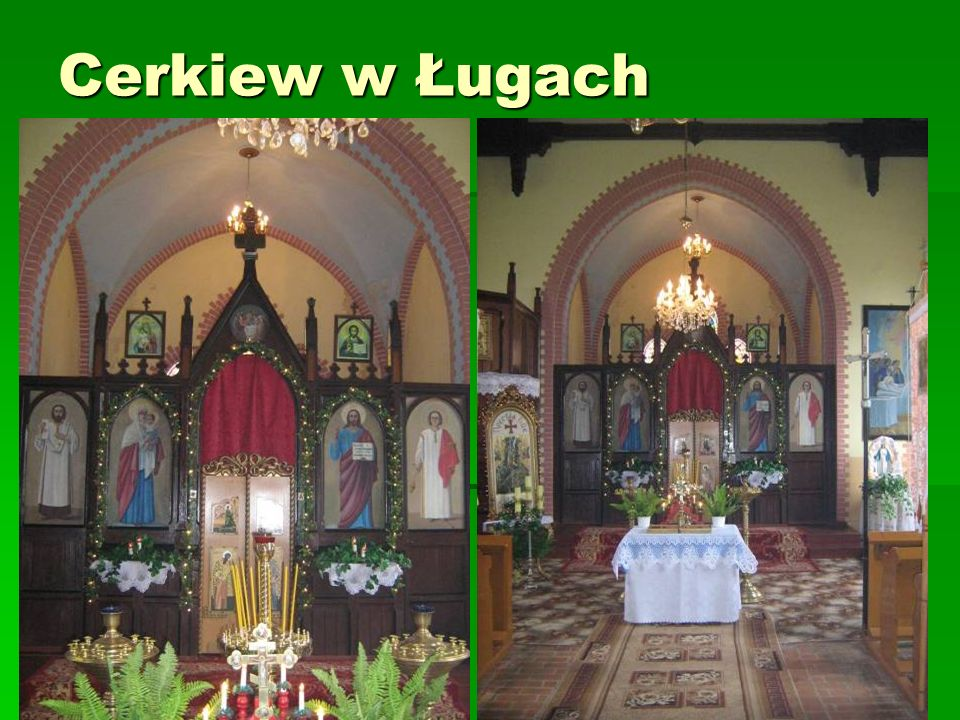 Cerkiew w Ługach