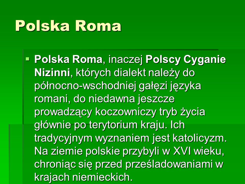 Polska Roma