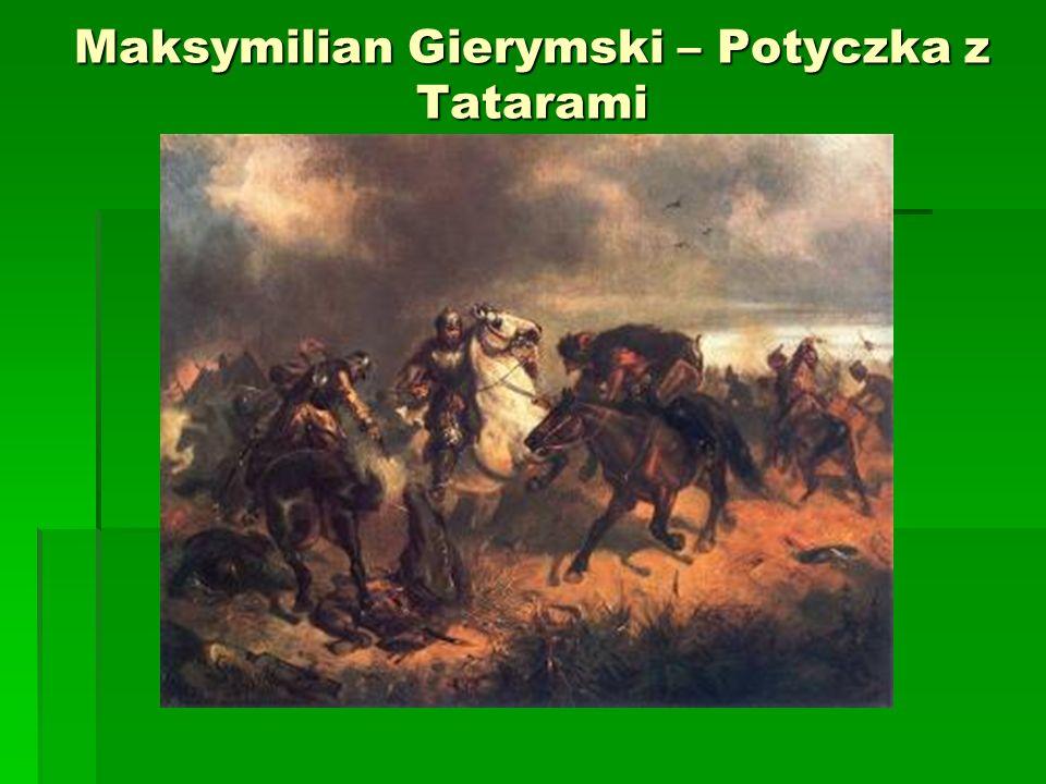 Maksymilian Gierymski – Potyczka z Tatarami