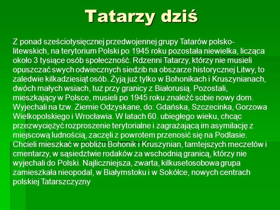 Tatarzy dziś