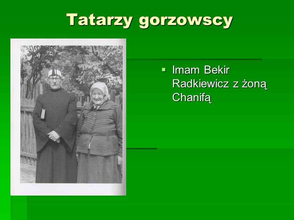 Tatarzy gorzowscy Imam Bekir Radkiewicz z żoną Chanifą