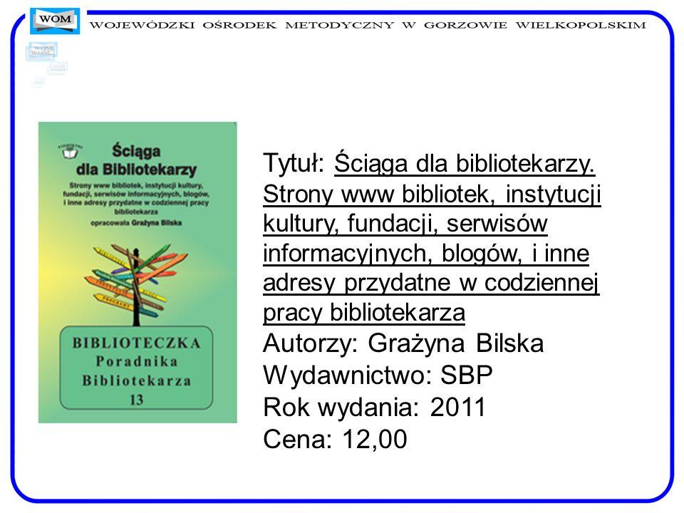 Tytuł: Ściąga dla bibliotekarzy