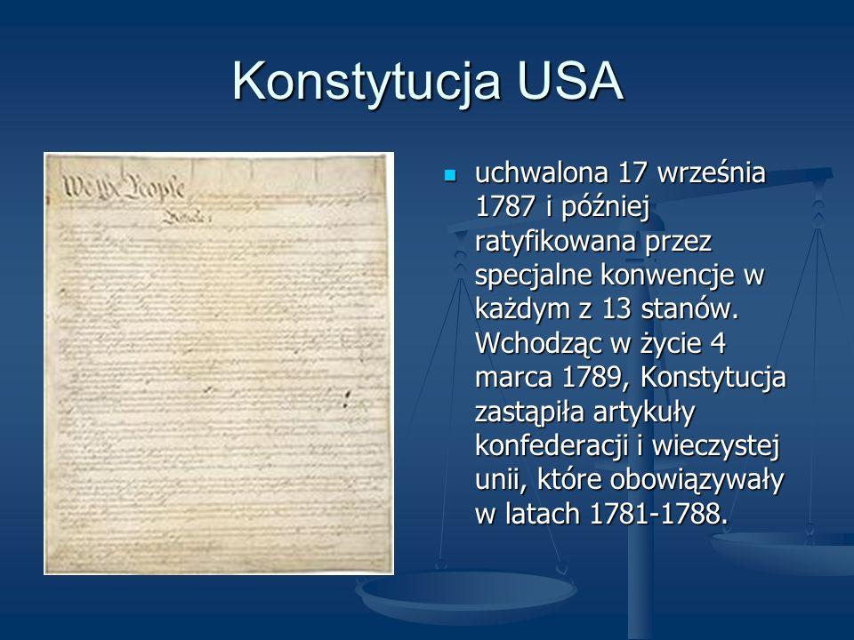 Konstytucja USA