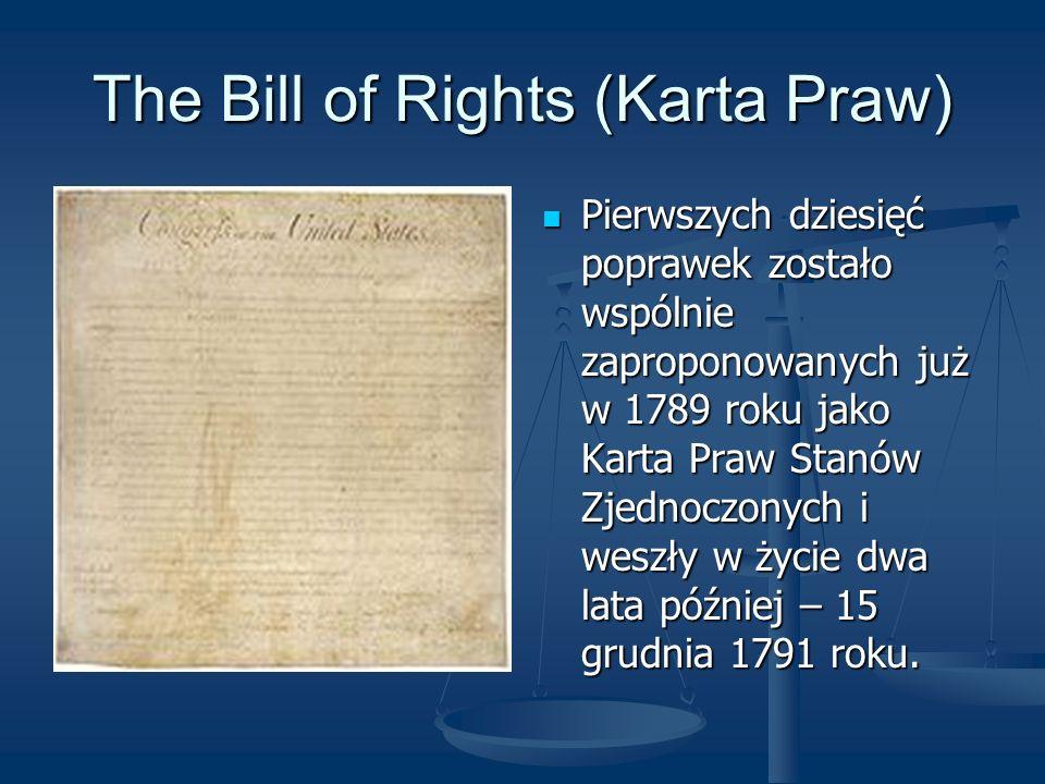 The Bill of Rights (Karta Praw)