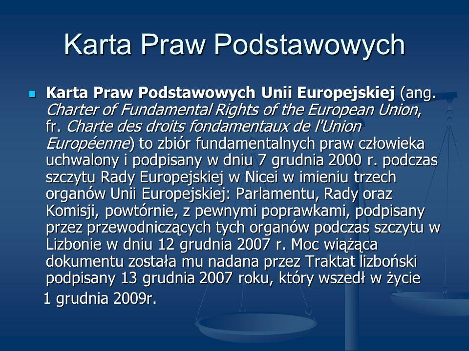 Karta Praw Podstawowych
