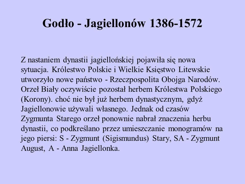 Godło - Jagiellonów 1386-1572