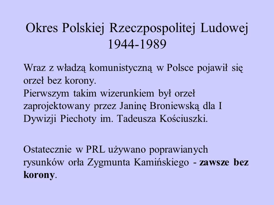 Okres Polskiej Rzeczpospolitej Ludowej 1944-1989