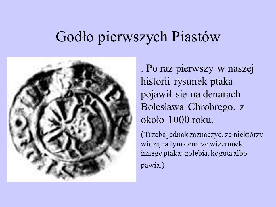 Godło pierwszych Piastów