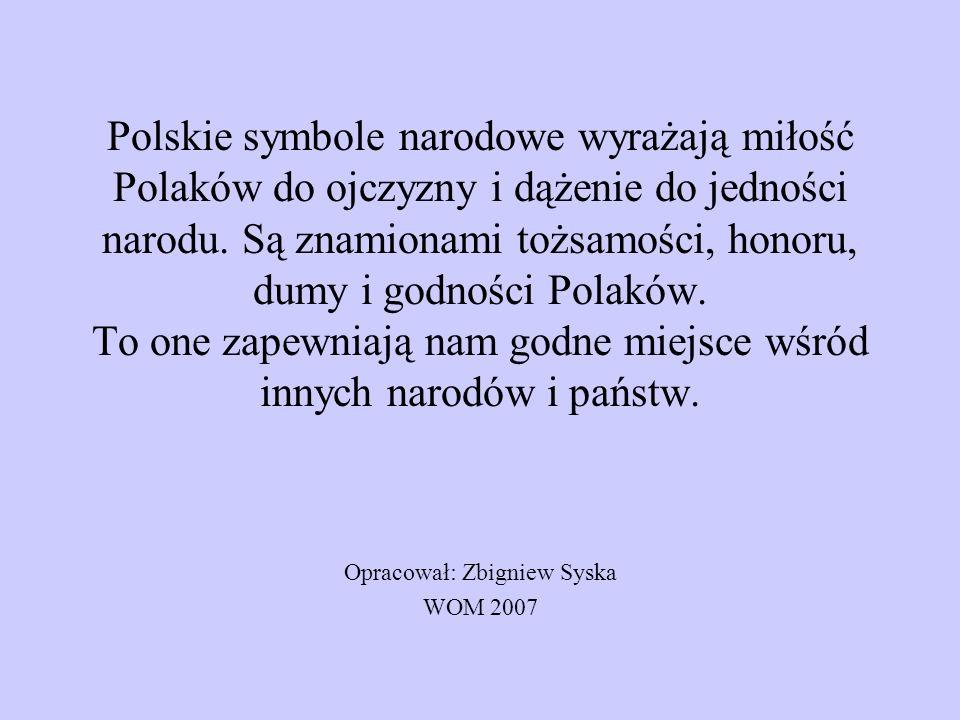 Opracował: Zbigniew Syska WOM 2007