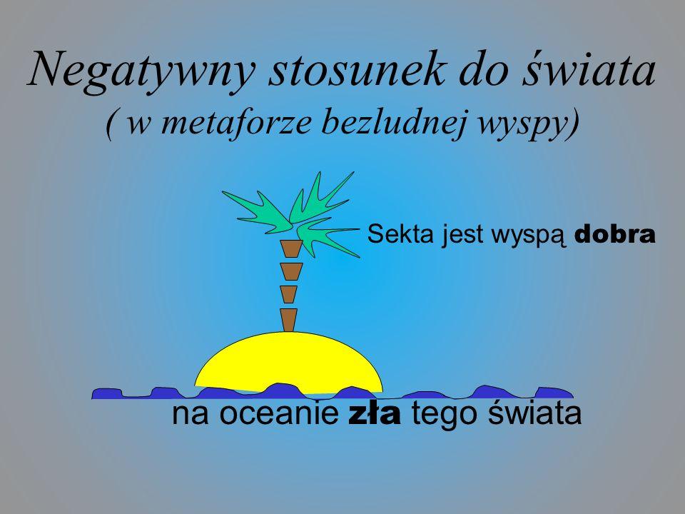 Negatywny stosunek do świata ( w metaforze bezludnej wyspy)