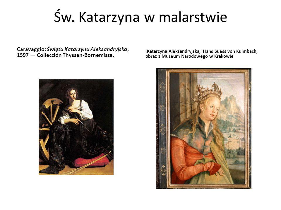 Św. Katarzyna w malarstwie