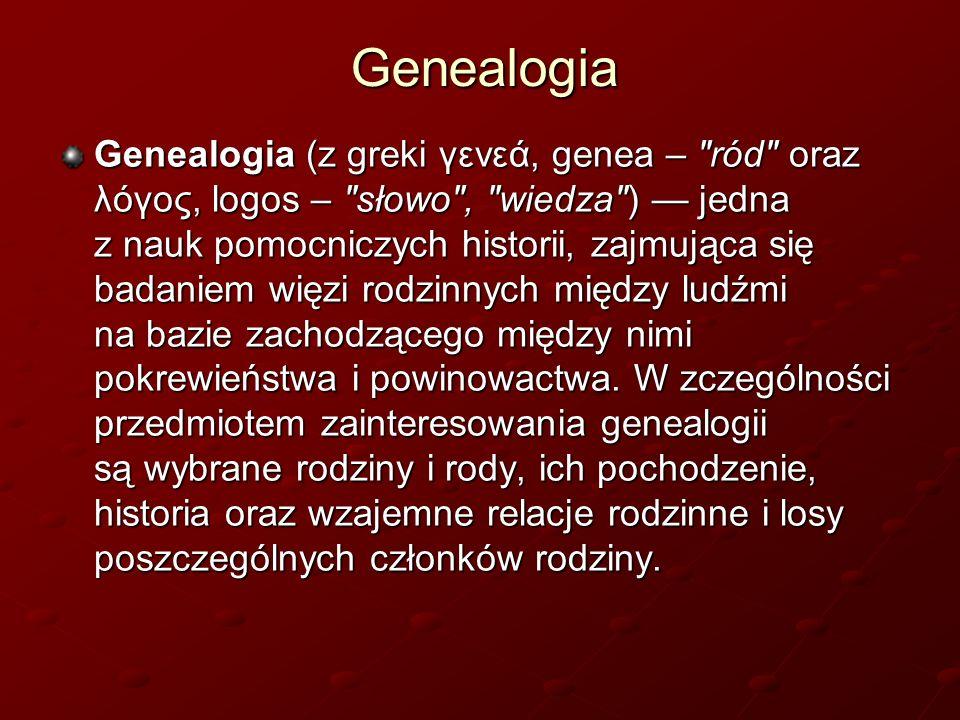 Genealogia