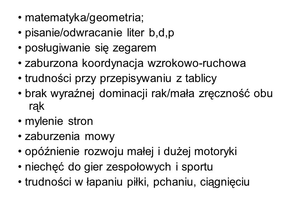• matematyka/geometria;