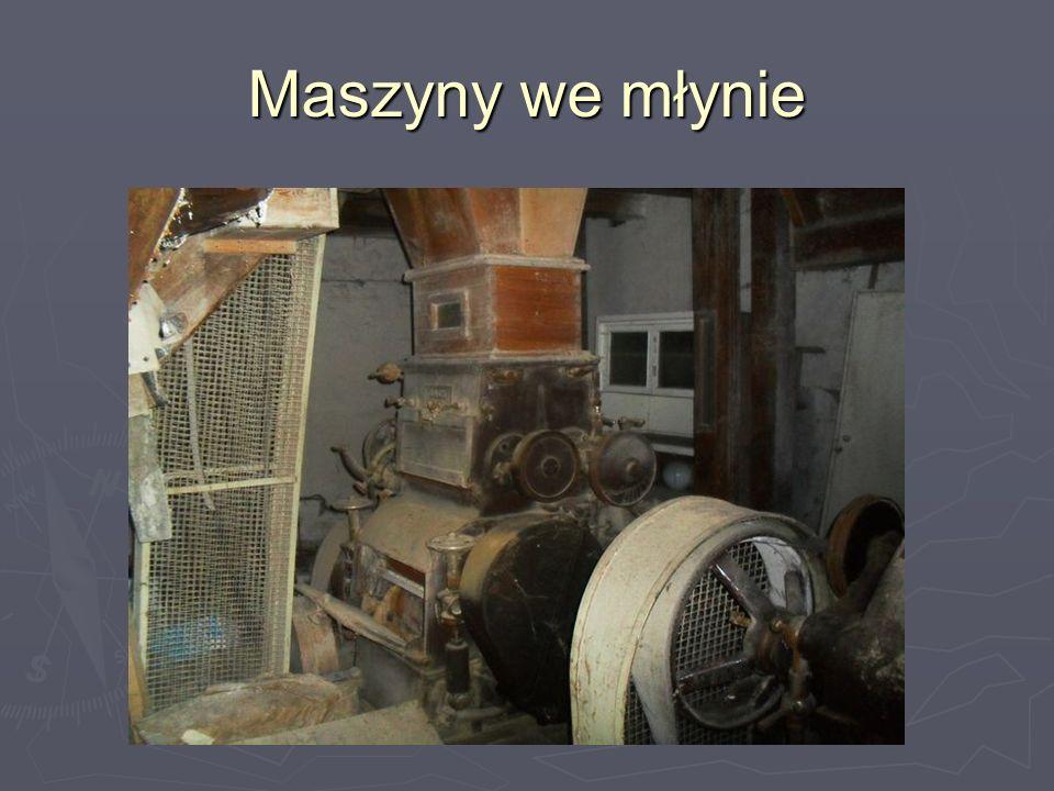 Maszyny we młynie
