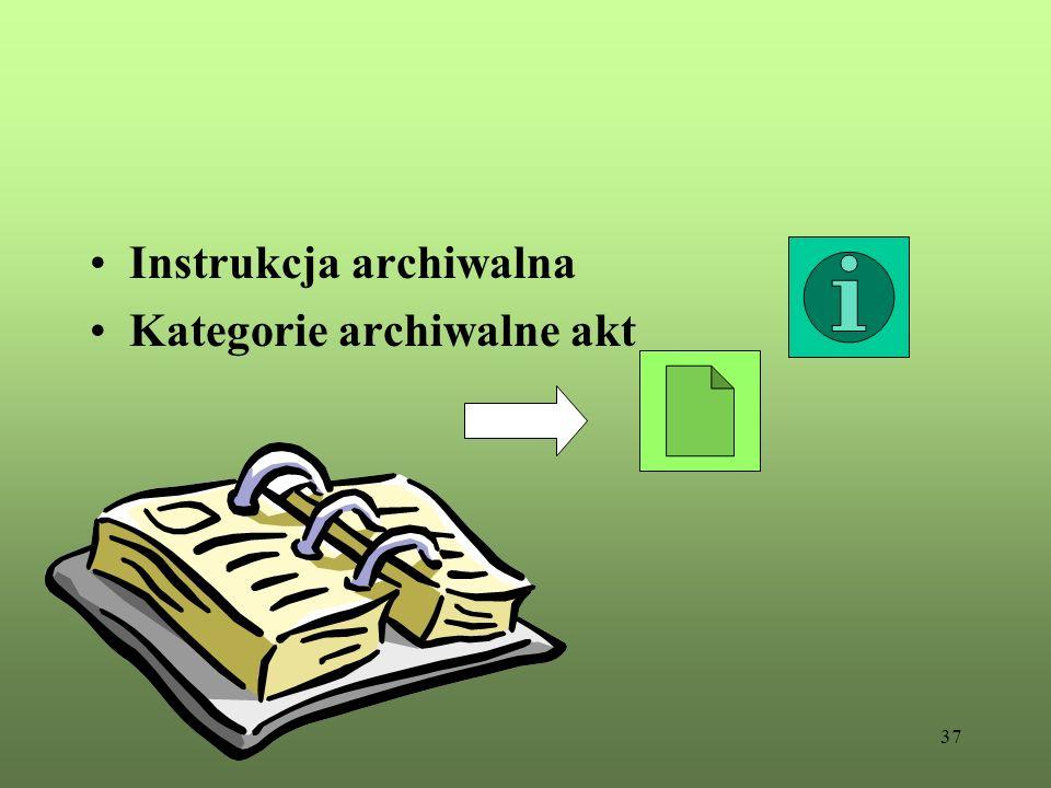 Instrukcja archiwalna