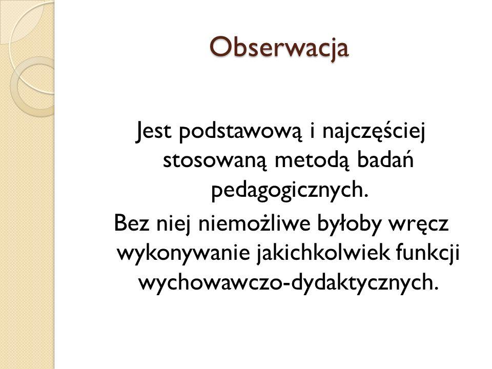 Obserwacja