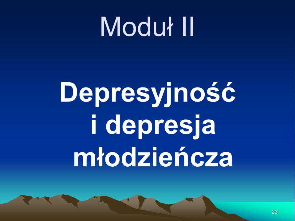 Depresyjność i depresja młodzieńcza