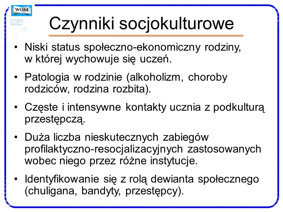 Czynniki socjokulturowe