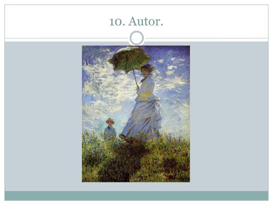10. Autor.