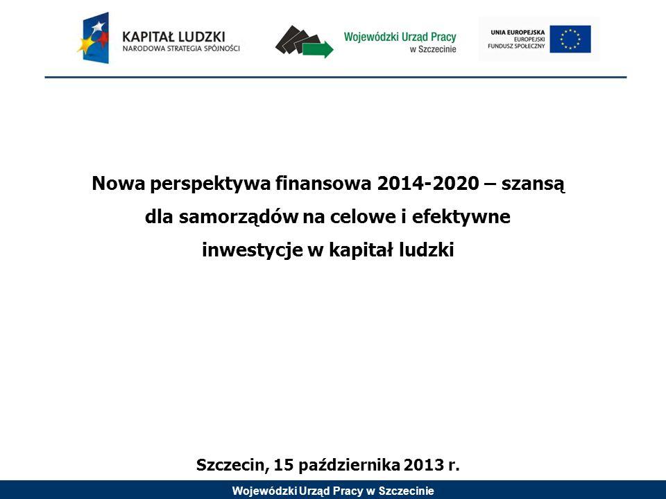 inwestycje w kapitał ludzki Szczecin, 15 października 2013 r.