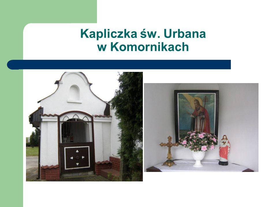 Kapliczka św. Urbana w Komornikach