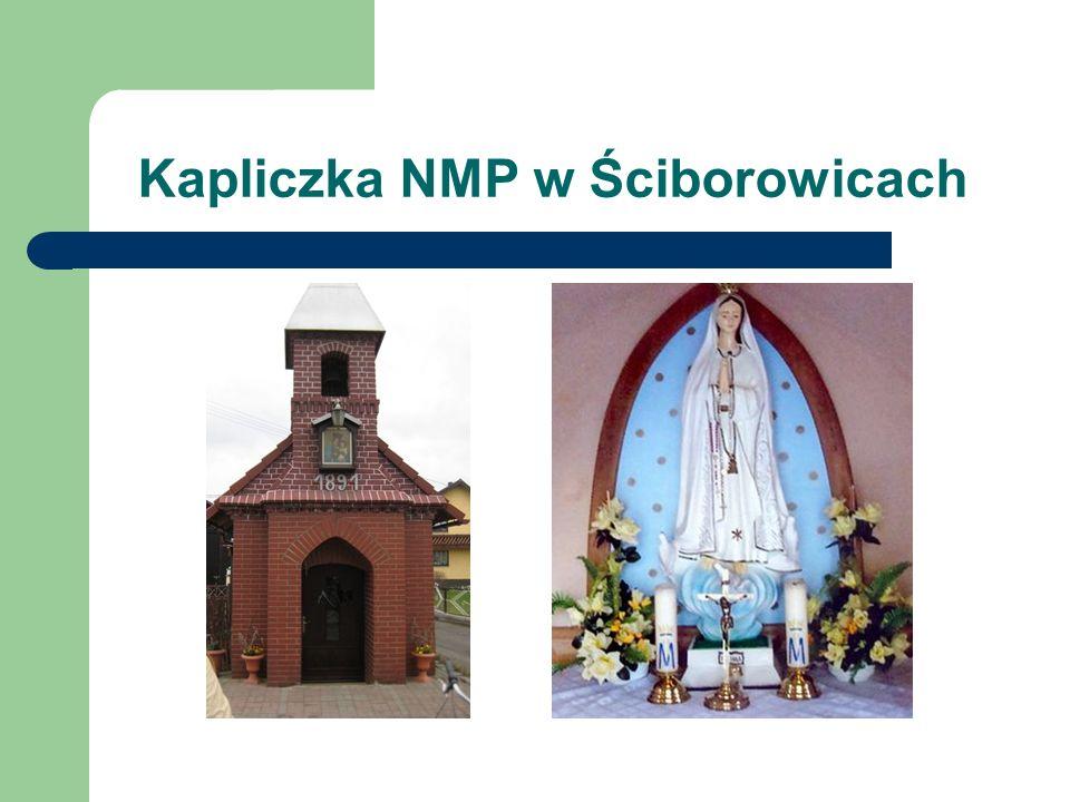 Kapliczka NMP w Ściborowicach