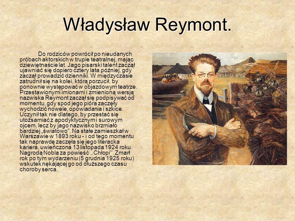 Władysław Reymont.