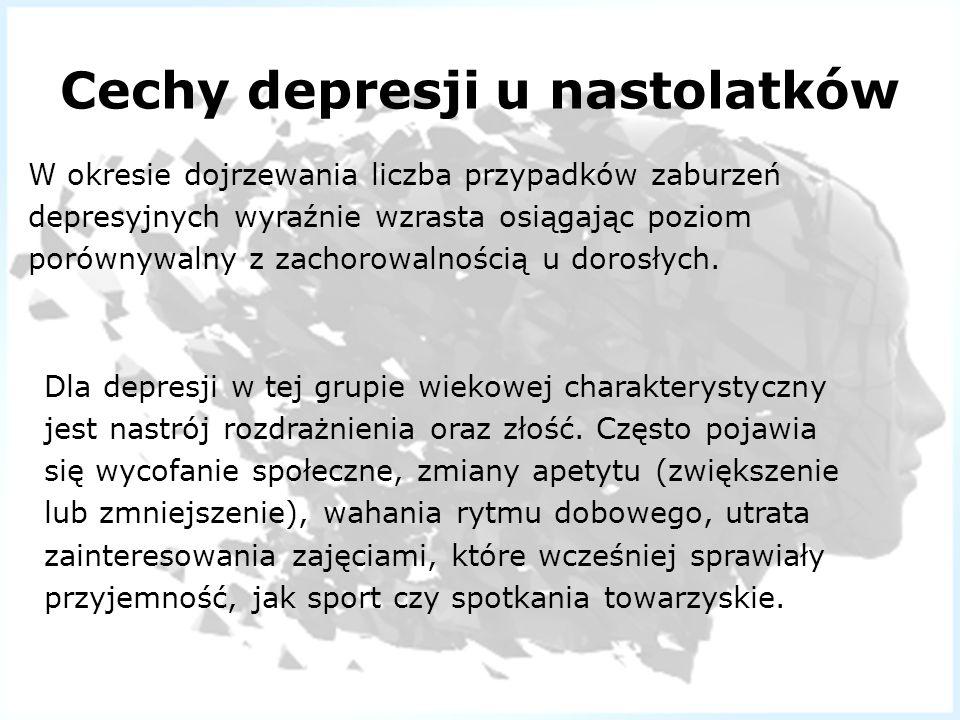 Cechy depresji u nastolatków
