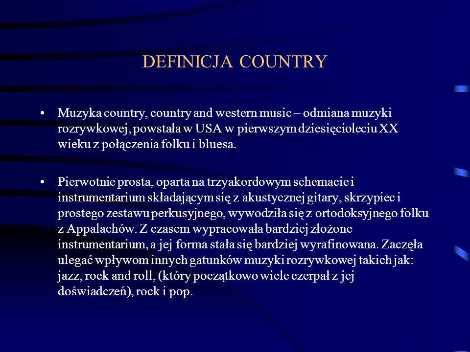 DEFINICJA COUNTRY