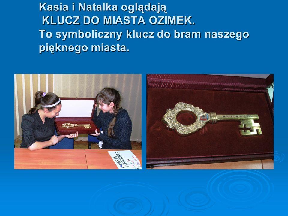 Kasia i Natalka oglądają KLUCZ DO MIASTA OZIMEK