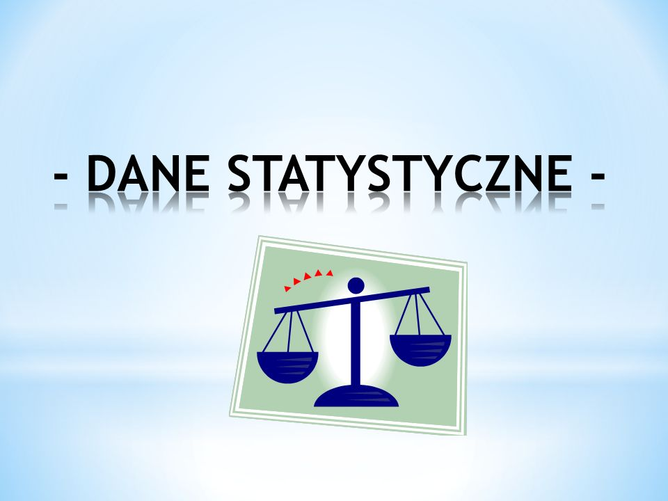 - DANE STATYSTYCZNE -