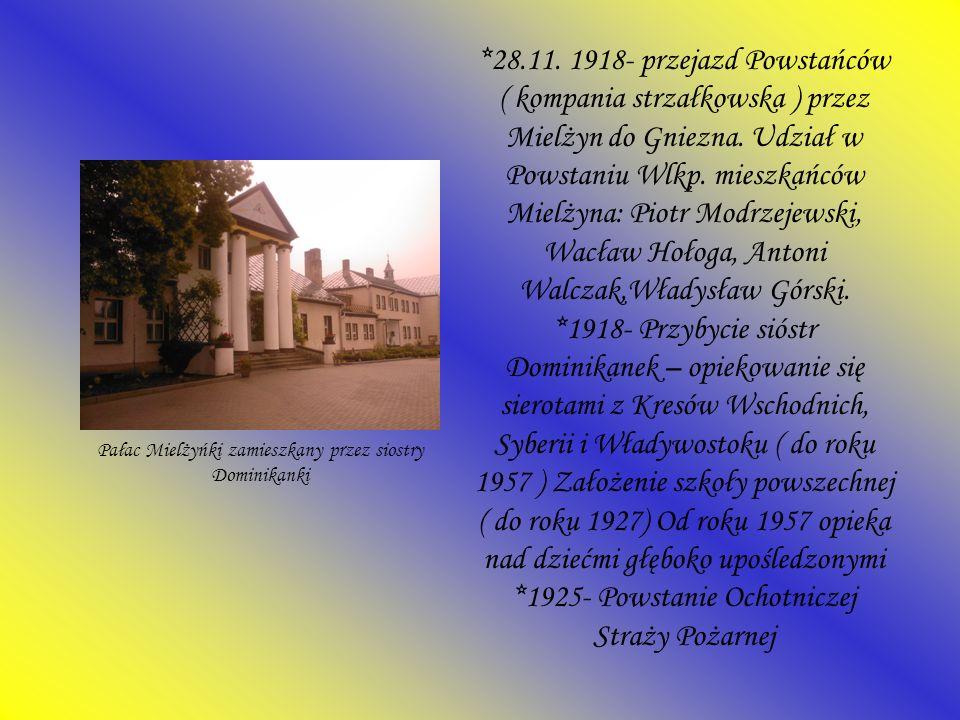 Pałac Mielżyńki zamieszkany przez siostry Dominikanki