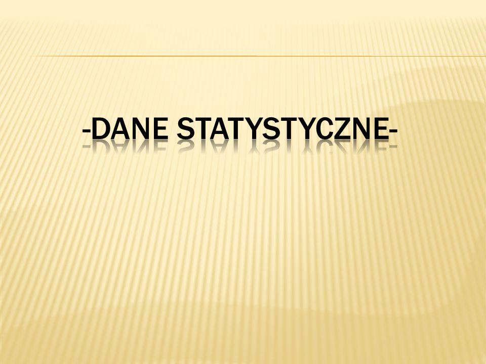 -DANE STATYSTYCZNE-