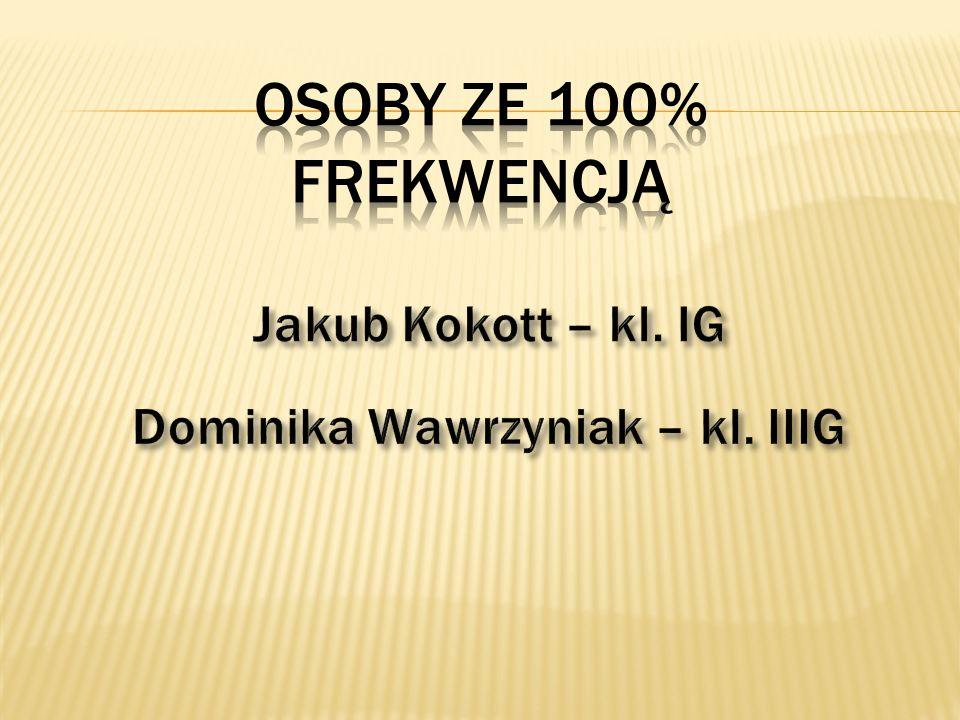 Dominika Wawrzyniak – kl. IIIG