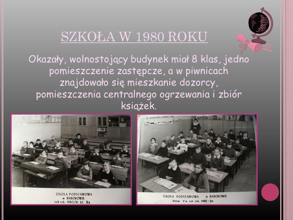 SZKOŁA W 1980 ROKU