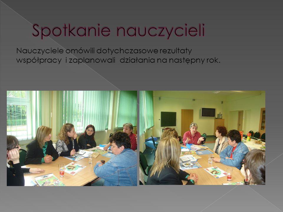 Spotkanie nauczycieli