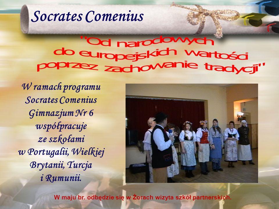 Socrates Comenius Od narodowych do europejskich wartości