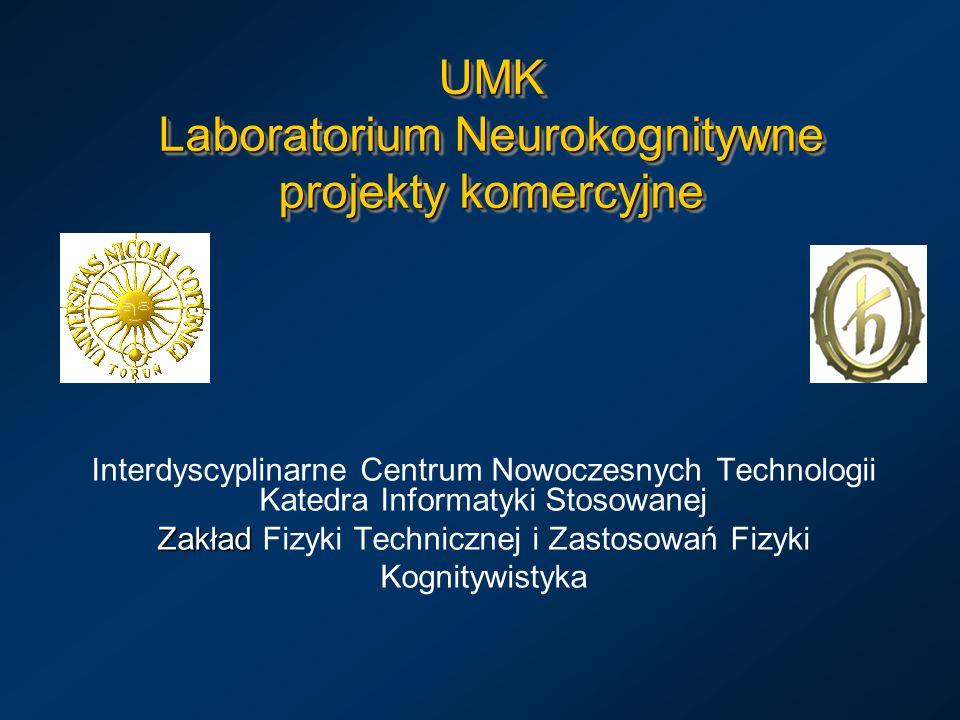 UMK Laboratorium Neurokognitywne projekty komercyjne